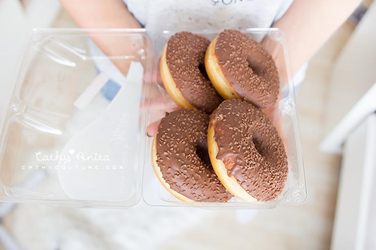 Donuts, Milka, Chocolate, Schokolade