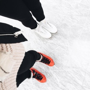 Iceskating with my girl