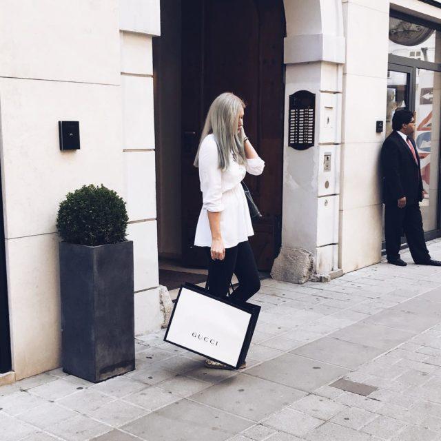 Finally   happygirl guccimarmont hermes kohlmarkt austria lifestylebloggerathellip